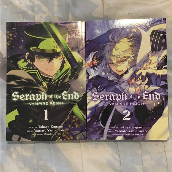 Seraph of the End Vampire Reign volumes 1 and 2